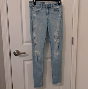 NWOT Abercrombie and Fitch Super Skinny Jeans